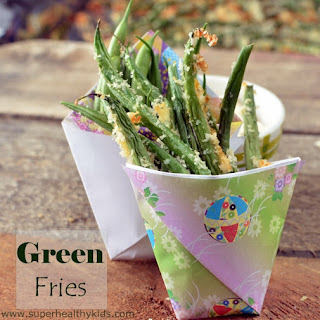 Green Fries- Toddler Finger Food