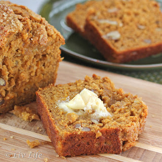 Pumpkin Banana Nut Bread