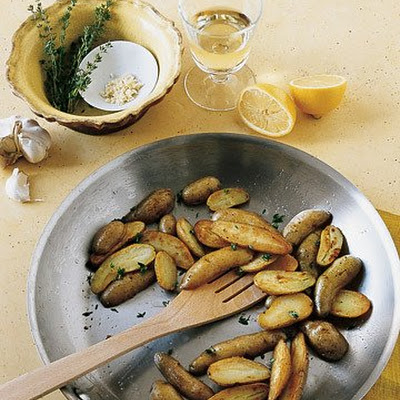 Lemon Fingerling Potatoes