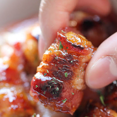 bacon wrapped tater tot bombs damn delicious frozen tater tots bacon ...