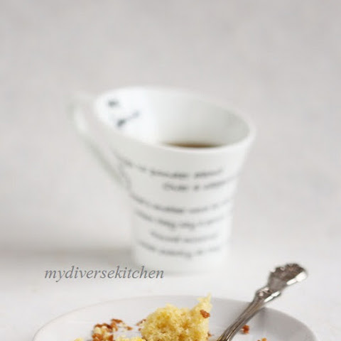 Very Vanilla One Bowl Yellow Cake