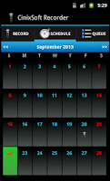 Screenshot of Secret Schedule Voice Recorder