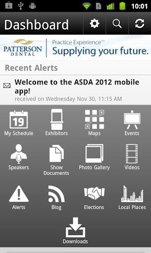 ASDA Annual Session 2012