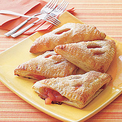 Apple-Raspberry Turnovers