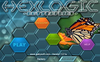 Screenshot of HexLogic - Butterflies