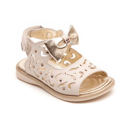 Step2wo Stolla - Metallic Bow Sandal SANDALS