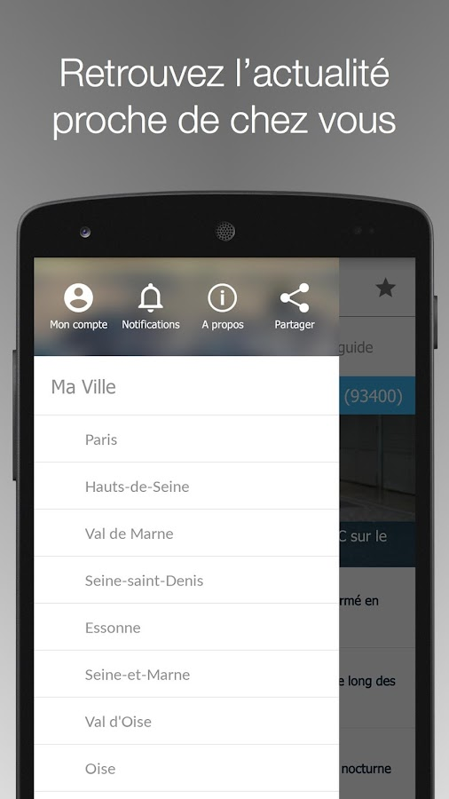 Le Parisien Ma Ville - Info Screenshot 2