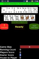 Screenshot of Blackjack Assistant