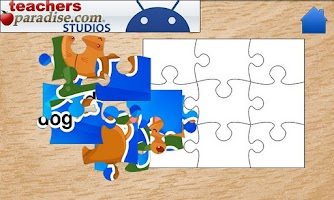 Screenshot of Kids ABCs Jigsaw Puzzles