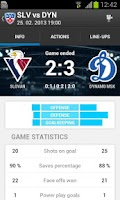 Screenshot of KHL 2014