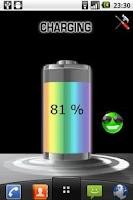 Screenshot of Battery HD FREE Live Wallpaper