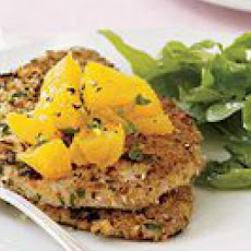 Sicilian Tuna Cutlets with Orange-and-Scallion Salsa