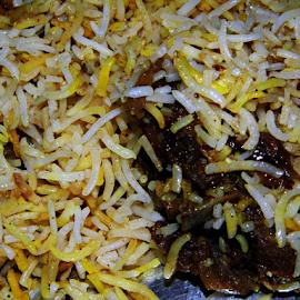 Mutton Biryani by Anindya Bhattacharjee - Food & Drink Plated Food ( mutton biryani, biryani )