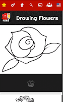 Screenshot of How to draw Flowers