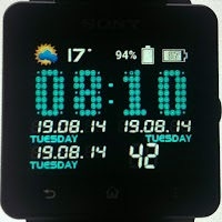 Screenshot of VirtualTech clock SmartWatch 2