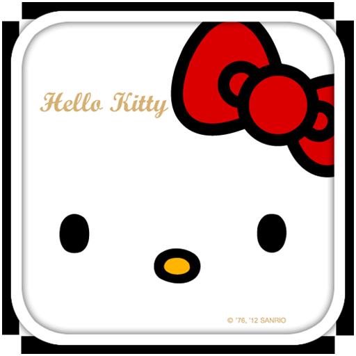 Hello Kitty Red Bow Theme LOGO-APP點子