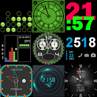 Screenshot of 27 Watch faces for Wear & Sony