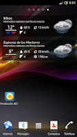 Screenshot of Spain Weather