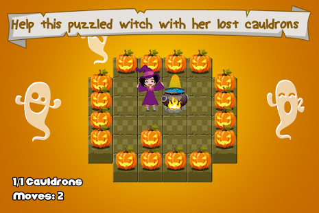 Lost Cauldrons and the Witch - screenshot