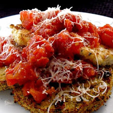 Chicken and Eggplant Parmesan