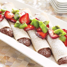 Chocolate Cream Crepes