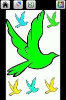 Screenshot of Bird Color Book