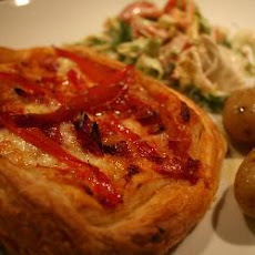 Pizza Tart With Puff Pastry