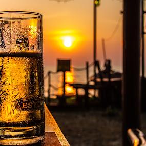 by Ralf Harimau Weinand - Food & Drink Alcohol & Drinks ( pantai tengah, tengah, frangipani, langkawi, relax, tranquil, relaxing, tranquility )