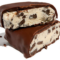 Chocolate-Dipped Cookies and Cream Ice Cream Bars Recipe