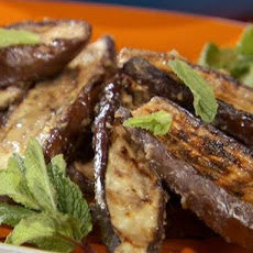 Miso Glazed Grilled Japanese Eggplant