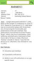 Screenshot of Updates for Android (info)