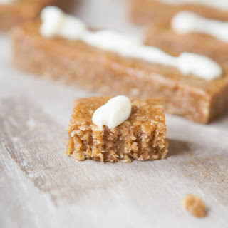 Snickerdoodle Cookie Granola Bars (no-bake, vegan, gluten-free)