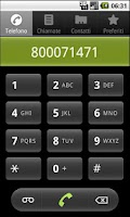 Screenshot of Milano usefull phone Num. FREE
