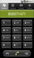 Screenshot of Milano usefull phone Num. FREE