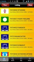 Screenshot of Undi PRU13 Malaysian Election