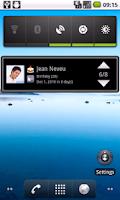 Screenshot of Birthday Reminder GL