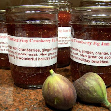 Thanksgiving Cranberry Fig Jam