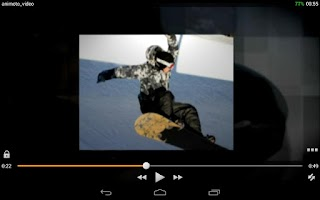 Screenshot of JoeVLC Video Player
