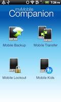 Screenshot of Mobile Lockout
