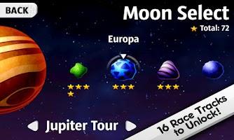 Screenshot of Lunar Racer