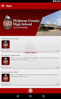 Screenshot of Hickman County High School