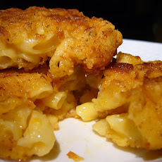 Chicken Fried Macaroni and Cheese