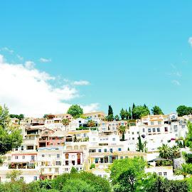 Marbella Spain 2 by Julie Josey - Buildings & Architecture Homes ( buildings, travel, marbella, homes, spain,  )