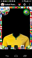 Screenshot of Brazil Football Photo Montage