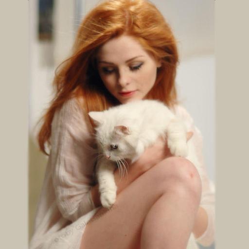 Чужая кошка в зеркале LOGO-APP點子
