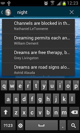 玩免費生活APP|下載Dream Quotes app不用錢|硬是要APP