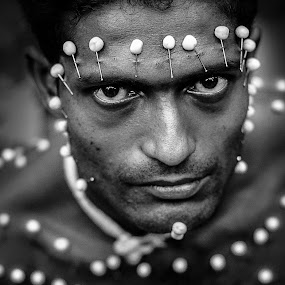by Sankalan Banik - Black & White Portraits & People