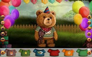 Screenshot of Dress Up! Cute Bear