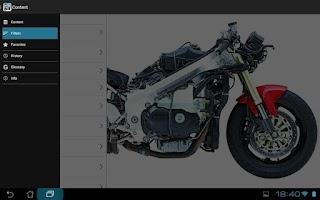 Screenshot of Superbikes & Motorcycles