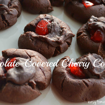 Chocolate Covered Cherry Cookie